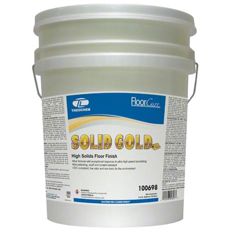 Theochem Solid Gold High Solids Floor Finish